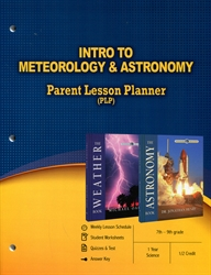 PLP: Intro to Meteorology & Astronomy - Parent Lesson Planner