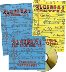 Teaching Textbooks Algebra 1 - CDs only (old)