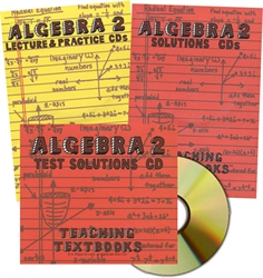 Teaching Textbooks Algebra 2 - CDs only (old)
