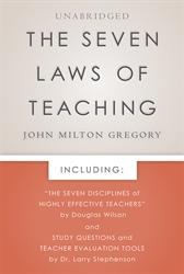 Seven Laws of Teaching