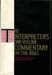 Interpreter's One-Volume Commentary on the Bible