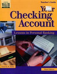Your Checking Account - Teacher's Guide
