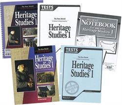 BJU Heritage Studies 1 - Home School Kit (old)