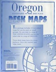 Oregon - Desk Maps