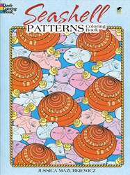 Seashell Patterns - Coloring Book