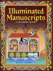 Illuminated Manuscripts - Coloring Book