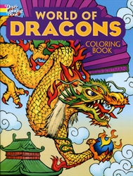World of Dragons - Coloring Book