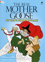Real Mother Goose - Coloring Book