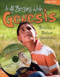 It All Begins with Genesis NIV/NAS - Teacher Book with CD