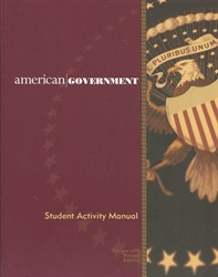 American Government - Student Activity Manual