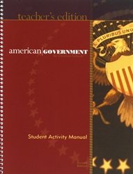 American Government - Student Activities Teacher Edition