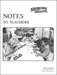 Miquon: Notes to Teachers