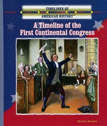 Timeline of the First Continental Congress