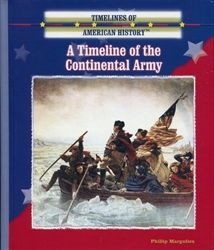 Timeline of the Continental Army