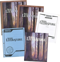 BJU British Literature - Home School Kit