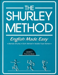 Shurley English Level 7 - Practice Booklet - Exodus Books