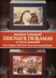 Dinosaur Dioramas to Cut & Assemble
