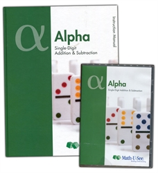Math-U-See Alpha Teacher Pack