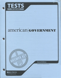 American Government - Tests Answer Key (old)