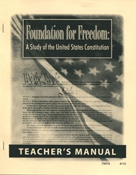 Foundation for Freedom - Teacher Manual