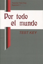 Spanish 1 - Test Key