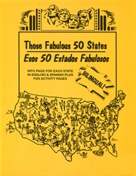 Those Fabulous 50 States Bilingual