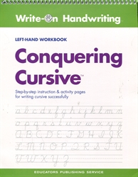 Write-On Handwriting: Conquering Cursive (Left-Hand)