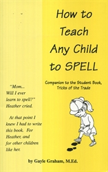 How to Teach Any Child to Spell