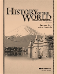 History of the World - Answer Key