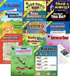 Critical Thinking Grade 6 Bundle