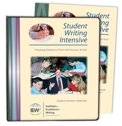 Student Writing Intensive Level A - Notebook