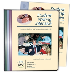 Student Writing Intensive Level B - Notebook
