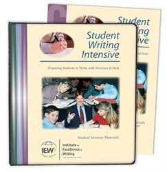 Student Writing Intensive Level C - Notebook