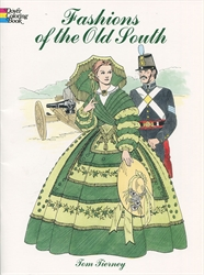 Fashions of the Old South - Coloring Book