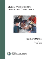 Student Writing Intensive Level A - Continuation Course Teacher's Book