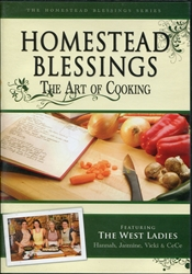 Homestead Blessings: Art of Cooking DVD
