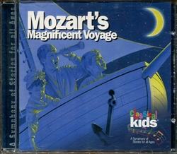 Mozart's Magnificent Voyage - CD