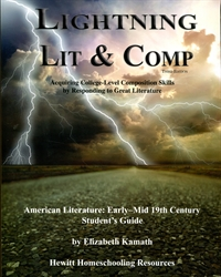 Lightning Lit & Comp American Literature: Early - Mid 19th Century - Student Guide