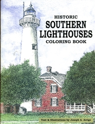 Historic Southern Lighthouses - Coloring Book