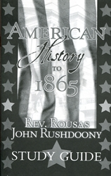 American History to 1865 - Study Guide