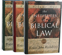 Institutes of Biblical Law set - Exodus Books