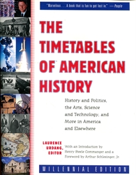 Timetables of American History