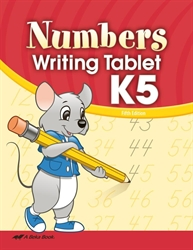 Numbers Writing Tablet