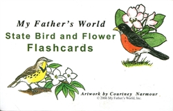 State Bird and Flower Flashcards