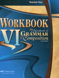 Workbook VI - Teacher Key