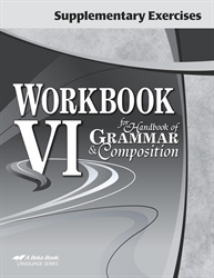 Supplementary Exercises for Workbook VI