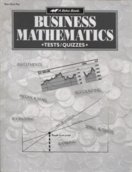 Business Mathematics - Test/Quiz Key