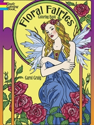 Floral Fairies - Coloring Book