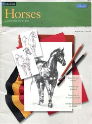 Horses: Learn to Draw Step By Step