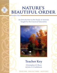 Nature's Beautiful Order - Teacher Key